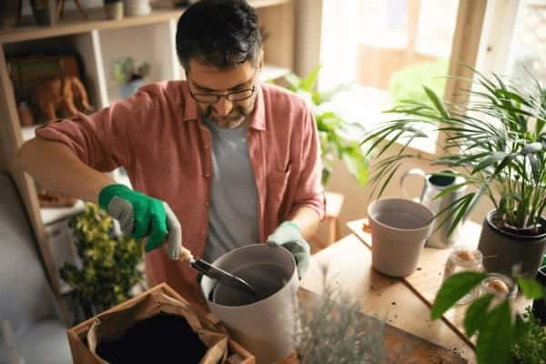 Container gardening is great for your mental health.