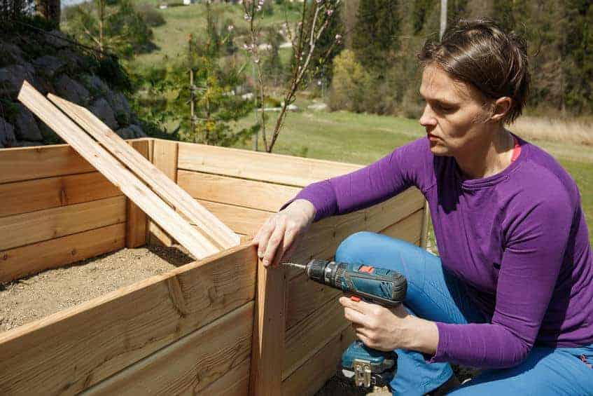 How to building a raised garden bed